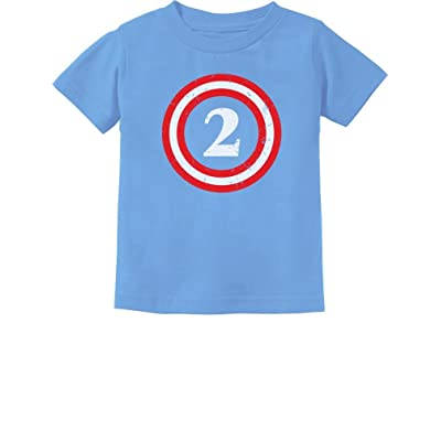 Captain 2nd Birthday Gift for Two Years Old Toddler//Infant Kids T-Shirt