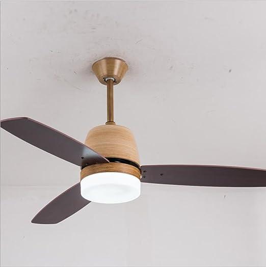 Lámpara de techo del norte de Europa Lámpara colgante Ventiladores ...