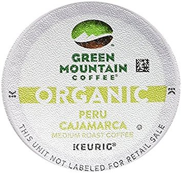 Green Mountain Organic Coffee K-cups (Peru Cajamarca 60 K-Cups)