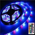 EverBright Super Brightness White 5M(16.4Ft) 5050 SMD 60LED/M 300 LED Waterproof Flexible Light Strip PCB Black For Car truck Neon Undercar Lighting Kits Mall booth House decoration Stage music Coloreful lights