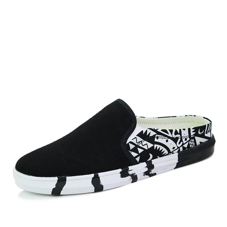 Hombres Zapatillas De Lona,Zapatillas Casuales Low-Ayuda C