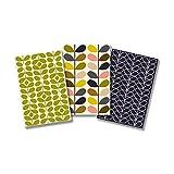 Studio Oh! Orla Kiely Mid-Century Stems Pocket Notebook Trio Cards