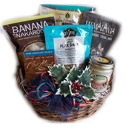 Amazon cambodia shopping on amazon ship to cambodia ship overseas raw food christmas gift basket vegan gluten free by well baskets negle Choice Image