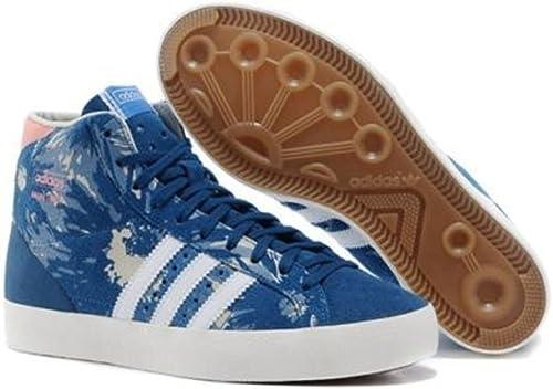 adidas Originals – Mujer Alta Turn Botas Basket Profi OG, Color Azul ...