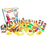 Jogo Jogo Kids Pretend Play Food 120-Piece Set