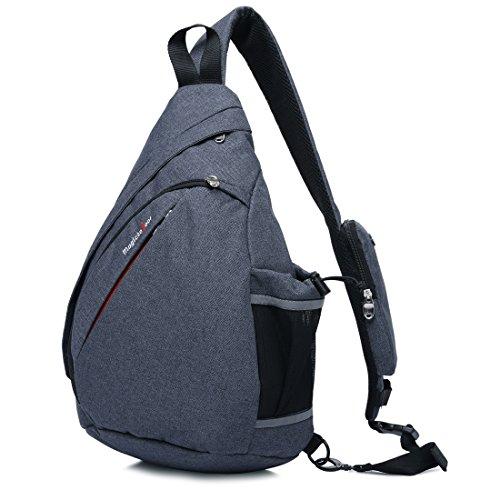 Magictodoor Sling Bag Travel Backpack Wear Over Shoulder or Crossbody