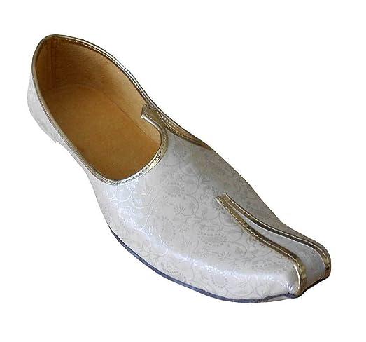 Ethnic Flip-Flops Men Shoes Punjabi Khussa Jutti Handmade Flat