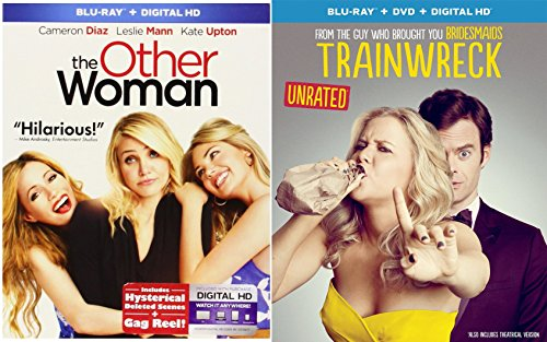 Trainwreck & The Other Woman Double Feature Blu Ray Fun Comedy movie Set Combo Double Edition