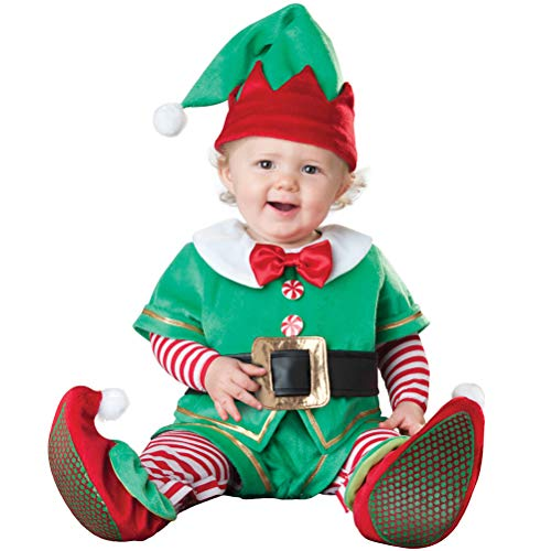 ARAUS Infant Christmas Costume Santa Cosplay Fancy Baby