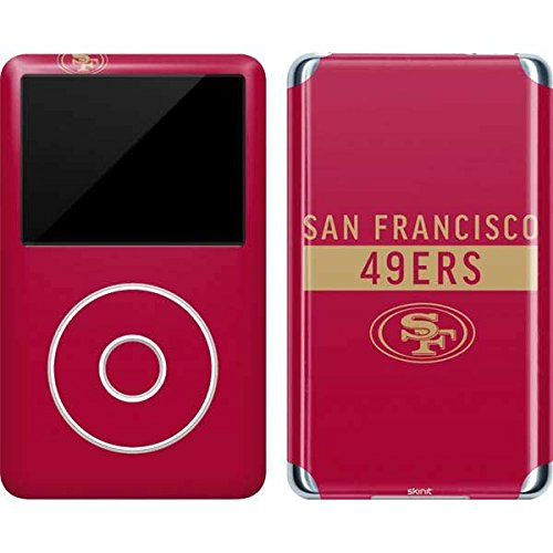 (Skinit NFL San Francisco 49ers iPod Classic (6th Gen) 80 & 160GB Skin - San Francisco 49ers Red Performance Series Design - Ultra Thin, Lightweight Vinyl Decal Protection)