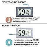 Goabroa Mini Hygrometer Thermometer Digital Indoor