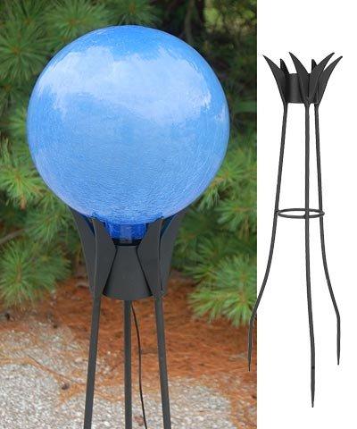 Achla Garden Celestial Solar Gazing Globe with Stand by BestNest
