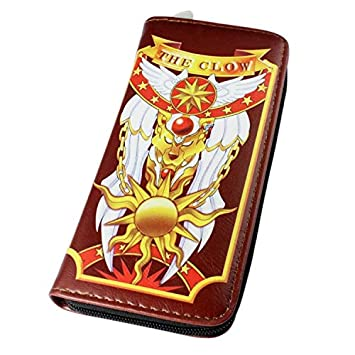 Cartera Sakura de Anime Cardcaptor con diseño de Kulo Magic, Bolsa de Mano para Regalo de Mujer, Cartera Larga con Cierre de Piel: Amazon.es: Hogar
