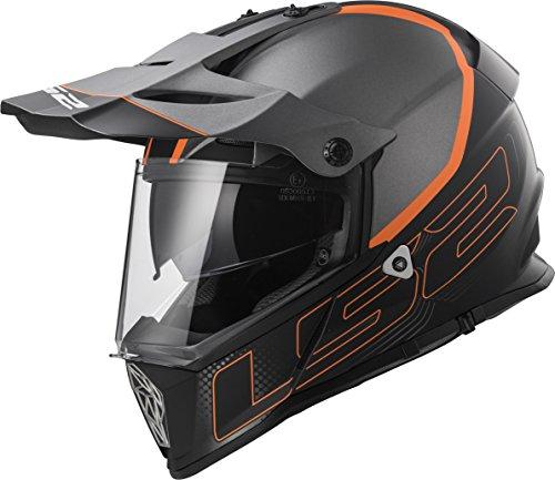 LS2 Helmets Motorcycle & Powersports Helmet's Off-Road Style Adventure Pioneer V2 (Element, XX-Large)