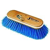 "Shurhold 975 Blue 10"" Extra Soft Nylon Deck Brush"