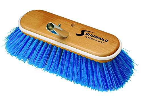 Shurhold 975 Blue 10' Extra Soft Nylon Deck Brush