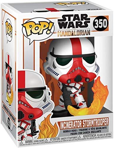 POP! Funko Star Wars The Mandalorian - Incinerator Stormtrooper Vinyl Figure