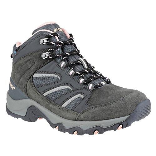 Hi-Tec Idaho Wp High Rise Hiking Zapatillas para Mujer Carbón/azul