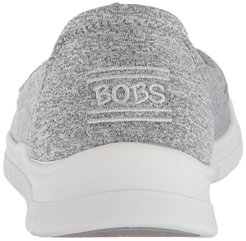 Bobs De Skechers Femmes Pureflex3-heather Jersey Ballet Flat Grey