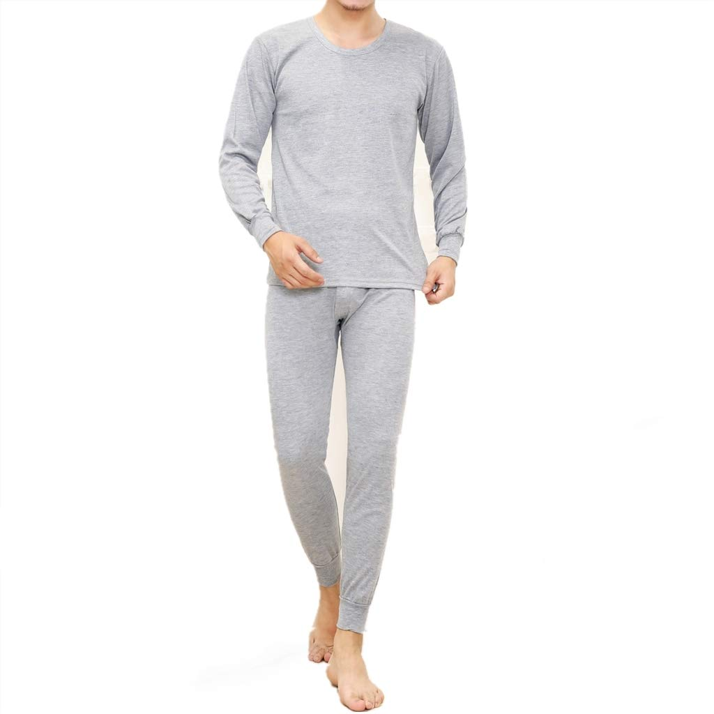 Men Winter Hot Thermal Underwear Leggings Pants Warm Sets - Long Sleeve Top & Bottom Long Johns Pants