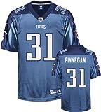 Cortland Finnegan Light Blue Reebok NFL Premier Tennessee Titans Jersey
