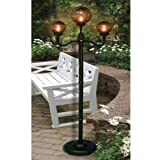 New! Outdoor 3-globe Street Lamp for Patio, Porch, Bronze Color