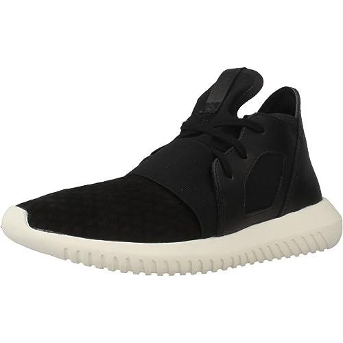 buy popular 96551 a1c82 Adidas - Tubular Defiant W - S75897 - El Color  Negros-Blanco - Talla   40.6  Amazon.es  Zapatos y complementos