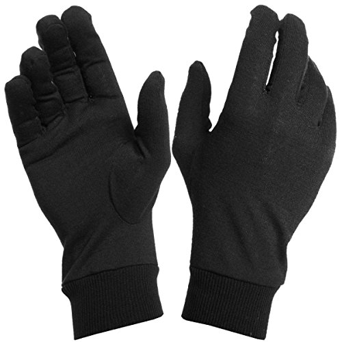 Northern Ridge Polar Glove Liners (Black / Small / -