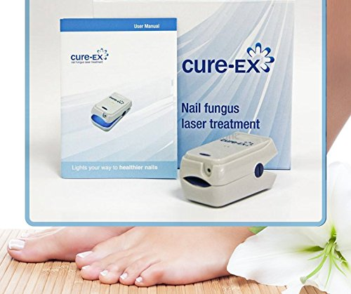 Nail Fungus Treatment Device - Non Invasive Yellow Fungi Nail Solution - Toenail Fungus Remover - Easy To Use Portable Tool - 7 Minutes Per Day Only - Do Not Feel Embarrassed Again - By Cure Ex by Cure-Ex (Image #9)