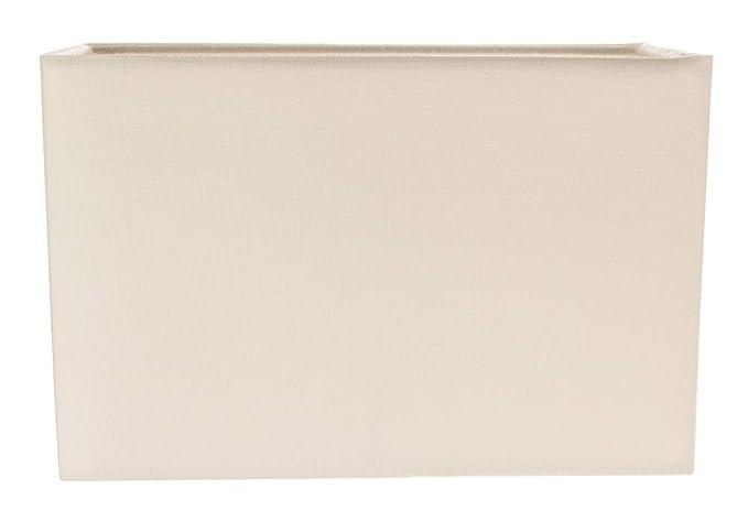 Pantalla de lámpara rectangular contemporáneo y elegante con ...