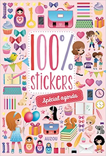 100 stickers spécial agenda: 9782733825495: Amazon.com: Books