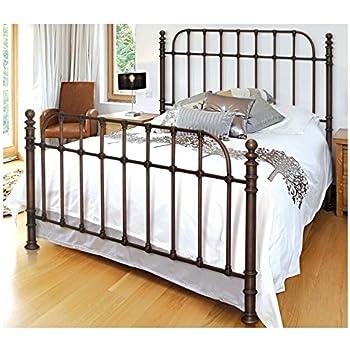 bello b565kdc metal bed frame king dark copper - Metal Bed Frames King