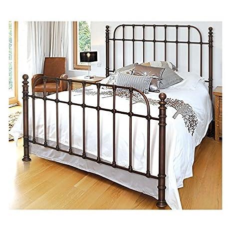 Amazoncom BellO B565KDC Metal Bed Frame King Dark Copper
