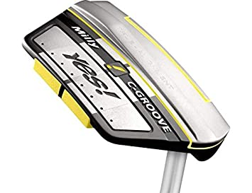Amazon.com: Yes True Alignment Milly Putter Steel Right ...
