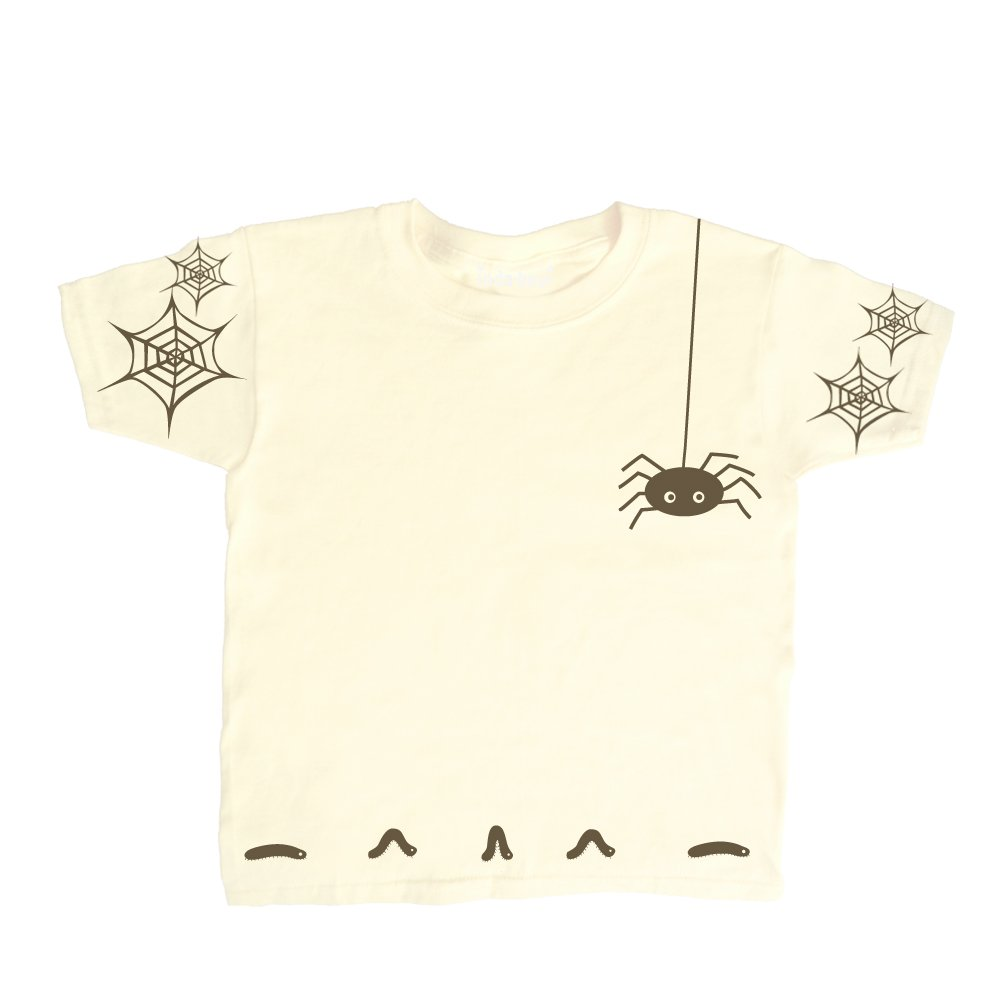 Inda-Bayi Baby-Toddler-Kids Cotton T Shirt - spider