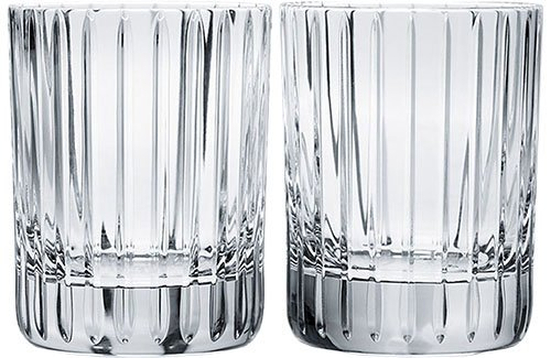 Baccarat Crystal BA2811298 Harmonie Tumbler No 1 Glass-Clear-Set of 2