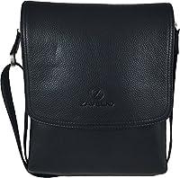 Zavelio Men's Genuine Leather Medium Cross Body Small Shoulder Messenger Bag