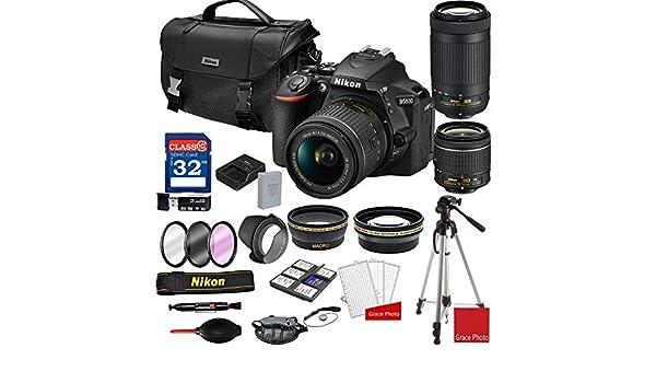 Nikon D5600 - Cámara réflex Digital con Lentes de Zoom AF-P de 18 ...