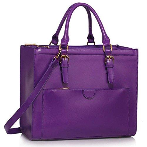Xardi London - Bolso de hombro mujer Purple Style 2