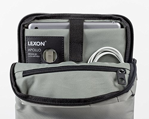 Lexon Borsa a spalla, grigio (grigio) - LN1610G