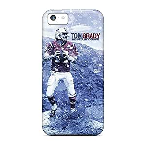 LJF phone case Cute High Quality Iphone 5c New England Patriots Case