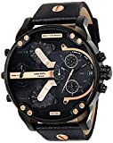 Diesel Chronograph Black Dial Men's Watch-DZ7350