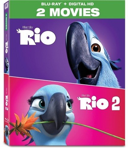 Rio 2-Movie on Blu-ray ONLY $9...