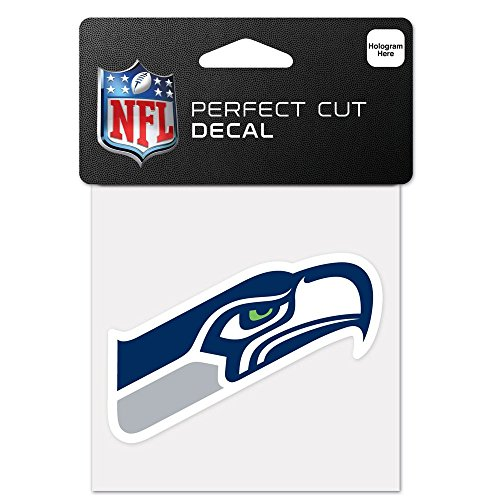 Seattle Seahawks Perfect Cut Decal - 4
