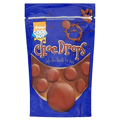(Armitage Good Boy Chocolate Drops (250g) - Pack of 6 )
