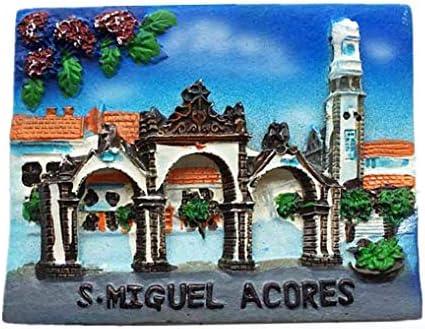 MUYU Magnet 3D S.Miguel Azores Portugal imán de Nevera de Viaje ...