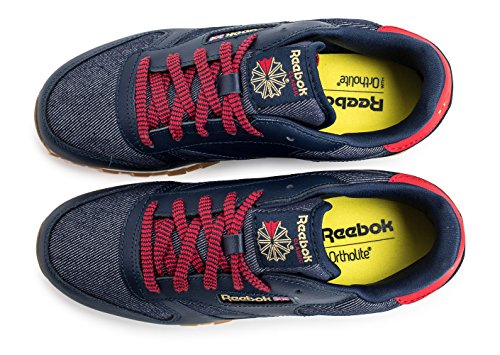 Reebok Classic CL Leather DG zapatilla de deporte señoras azul AR2042 Navy