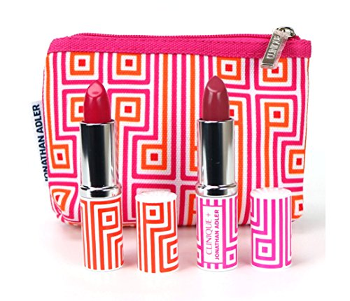 Clinique Pop Lip Color + Primer Lipstick Set, Punch Pop, Plum Pop