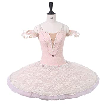 5c757d578e QSEFT Sleeping Beauty Pink Professional Tutus Adult Costume Tutu  Professional Ballet Tutu Child Ballet Performance Tutu