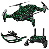 MightySkins Skin For DJI Max Coverage - Marijuana | Protective, Durable, and Unique Vinyl Decal wrap cover | Easy To Apply, Remove, and Change Styles | Made in the USA